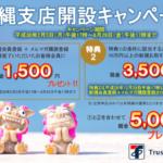 トラストレンディングが沖縄キャンペーンを開始!気になる内容は?